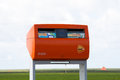 Postbox from post.nl Royalty Free Stock Photo
