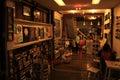 Postcard shop at chiang khan Royalty Free Stock Photo