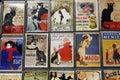 Postcards from Paris, France, August 5, 2015 - Henri de Toulouse-Lautrec Royalty Free Stock Photo