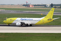 Poste italiane mistral air prague czech republic april boeing q lands at prg airport on april is a cargo and charter Stock Photos