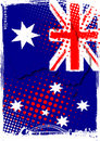 Poster of australia Stock Images