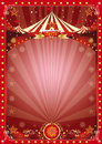 Poster christmas circus Royalty Free Stock Photo