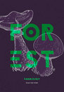 Poster design template. Forest mushrooms