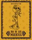 Poster for dia de los muertos