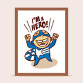 Poster I`m a Hero