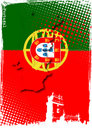 Poster of portugal Royalty Free Stock Image