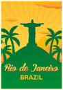 Poster Travel To Brazil, Rio D...