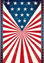 Poster of us flag american in the background this for you Stock Image