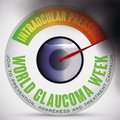 Eye Ball like Manometer Showing Risks for Glaucoma Day, Vector Illustration