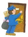 Postman Royalty Free Stock Photo