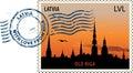 Postmark From Latvia
