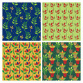 Posy Patterns Royalty Free Stock Image