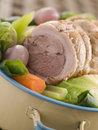 Pot au Feu Belly Pork Sliced Royalty Free Stock Photos