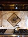Pot filler faucet. Royalty Free Stock Photo