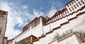 The potala palace day of magnificent towering Royalty Free Stock Photos