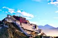 Potala Palace in the early morning Royalty Free Stock Photo