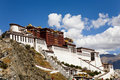 Potala Palace at Lhasa, Tibet Royalty Free Stock Photos