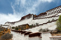 Potala palace in lhasa tibet china photo taken on may th Royalty Free Stock Photos