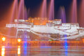 Potala palace the night scene of in lhasa tibet china Stock Photography