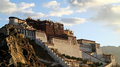 Potala palace one of the most important architecture in tibet Royalty Free Stock Photo