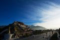 The Potala Palace under sunlight Royalty Free Stock Photo