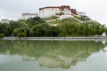 Potala palace the view of Stock Photo
