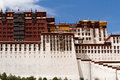 Potala palace the view of Stock Images