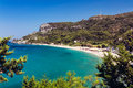 Potami beach Samos Royalty Free Stock Photo