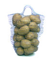 Potato in a bag. Stock Images