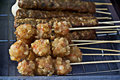 Potato ball Yakitori Royalty Free Stock Photo