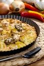 Potato cake Royalty Free Stock Photo