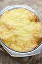 Potato and cheese casserole just taken from the oven Stock Photography