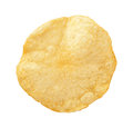 Potato Chip isolated Royalty Free Stock Photo
