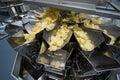 Potato chips factory Royalty Free Stock Photo