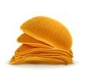 Potato chips vector illustration Royalty Free Stock Photo