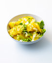 Potato and endive salad Royalty Free Stock Photography