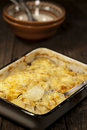 Potato gratin dauphinoise Royalty Free Stock Photography