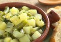 Potato and Green Bean Hotpot Royalty Free Stock Image