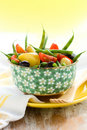 Potato and green bean salad