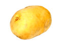 Potato isolated over white background Royalty Free Stock Photos