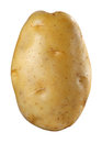 Potato isolated on white background Royalty Free Stock Photos