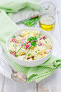 Potato salad with radishes Stock Photography