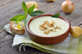 Potato soup Royalty Free Stock Photo