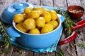 Potatoes boiled Royalty Free Stock Photo