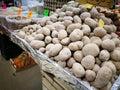 Potatoes in farmers market Royalty Free Stock Photo