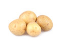 Potatoes isolated on white background Royalty Free Stock Photo