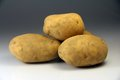Potatoes photograph of several of the season Stock Photos