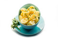Potatoes salad with parlsey Royalty Free Stock Photography