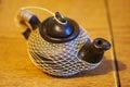 Pote del té Imagen de archivo libre de regalías