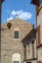 Potenza Picena (Macerata) - Ancient buildings Royalty Free Stock Images